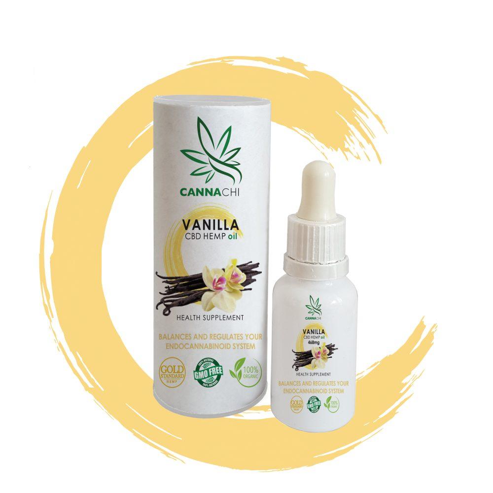 Vanilla Chi CBDHemp Oil